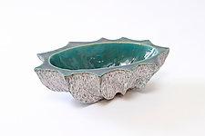 Small Oval XX by Emil Yanos (Ceramic Bowl)