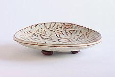 Coconut Dish I by Emil Yanos (Ceramic Platter)