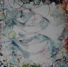 Breathe by Julie Havel (Mixed-Media Painting)
