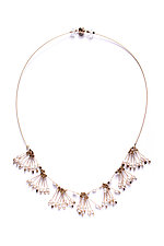 Tassel Necklace by Meghan Patrice  Riley (Steel & Pearl Necklace)