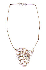 Solar Necklace by Meghan Patrice  Riley (Gold & Stone Necklace)