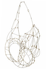 Multi Mobius by Meghan Patrice  Riley (Gold, Silver & Steel Necklace)