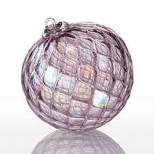Through the Looking Glass by Katerina Lockwood (Art Glass Ornament)