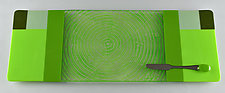 Lucky Fortune by Terry Gomien (Art Glass Tray)