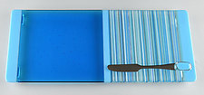 Long Calm Water by Terry Gomien (Art Glass Tray)