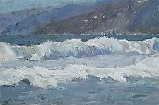 Malibu Hills by Cynthia Eddings (Oil Painting)
