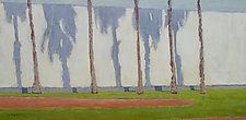 Palm Shadows by Cynthia Eddings (Oil Painting)
