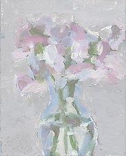 Sweet Peas by Cynthia Eddings (Oil Painting)
