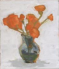 Chrysanthemum by Cynthia Eddings (Oil Painting)