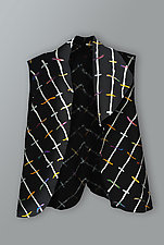 Collage Vest by Uosis Juodvalkis  and Jacquie Rice  (Felted Vest, M (10-12))