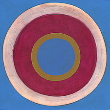 Circles! #10 by Laura Nugent (Acrylic Painting)