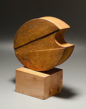 Moon Shadow II by Jan Hoy (Ceramic Sculpture)