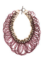 Gilded Necklace by Michelle Pajak-Reynolds (Silver & Stone Necklace)