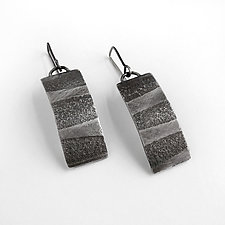 Tidal Earrings by Jane Pellicciotto (Silver Earrings)