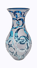 Ventana Ring Vase by Minh Martin (Art Glass Vase)