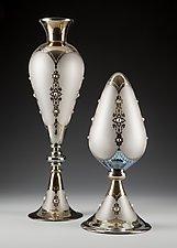 Gem Vessels by Minh Martin (Art Glass Sculpture)
