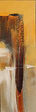 Golden Cliffs I by Nicholas Foschi (Acrylic Painting)