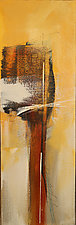 Golden Cliffs II by Nicholas Foschi (Acrylic Painting)
