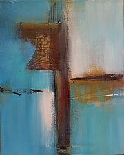 Blue Horizon I by Nicholas Foschi (Acrylic Painting)