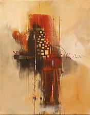 Geometric Abstract II by Nicholas Foschi (Acrylic Painting)