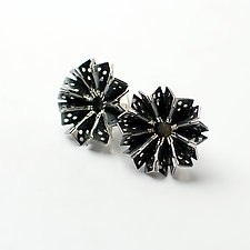 Blossom Earrings 1 by Sophia Hu (Silver Earrings)
