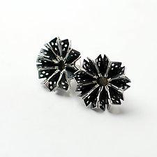 Blossom Earrings 1 by Sophia Hu (Silver Earrings)