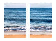 Montauk Diptych by Richard Speedy (Color Photograph)