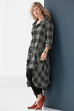 Plaid Duster by Bodil Knighton  (Woven Jacket)