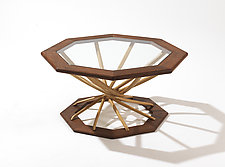 Vortex Table by Jesse Shaw (Wood Coffee Table)