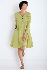 Linen Meadow Dress by Lisa Bayne  (Linen Dress)