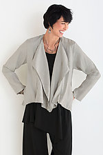 Linen Riviera Jacket by Lisa Bayne  (Linen Jacket)