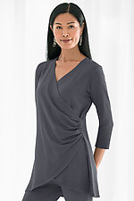 French Terry Diana Top by Lisa Bayne  (Knit Top)