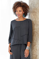 Renzo Crepe Top by Lisa Bayne  (Woven Top)