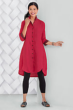 Positano Shirt Dress by Lisa Bayne  (Linen Dress)