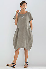 Sandrine Dress by Lisa Bayne  (Linen Dress)