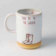 Gardener's Mug by Chris Hudson and Shelly  Hail (Ceramic Mug)