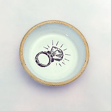 For Bling & Things Ring Dish by Chris Hudson and Shelly  Hail (Ceramic Dish)