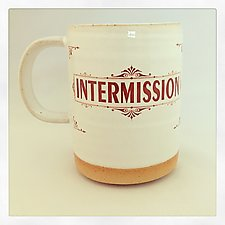 Intermission Mug by Chris Hudson and Shelly  Hail (Ceramic Mug)