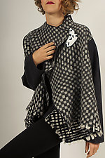 Woven Wool Felted Jacket by Uosis Juodvalkis  and Jacquie Rice  (Wool Jacket)
