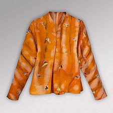 Kimono Sleeve Shards Wool Jacket by Uosis Juodvalkis  and Jacquie Rice  (Wool Jacket)