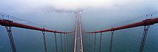 Golden Gate Bridge by Terry Thompson (Color Photograph)