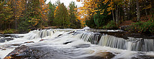 Bond Falls by Terry Thompson (Color Photograph)