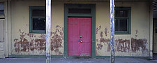 Pink Door by Terry Thompson (Color Photograph)