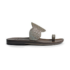 Athena Slide by Calleen Cordero  (Leather Sandal)