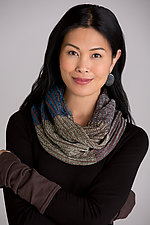 Mstari Mobius Infinity Scarf by Robin L Bergman (Chenille Scarf)