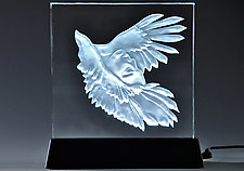 FlightSong by Susan Bloch (Art Glass Sculpture)