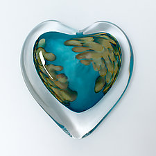 Coral Sea by April Wagner (Art Glass Paperweight)