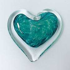 Mint Julep by April Wagner (Art Glass Paperweight)