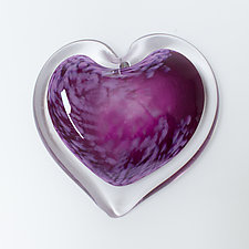 Plum Parfait by April Wagner (Art Glass Paperweight)