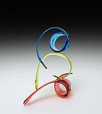 Kairos by April Wagner (Art Glass Sculpture)